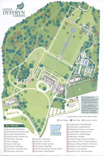 Dyffryn Gardens Garden Ftempo